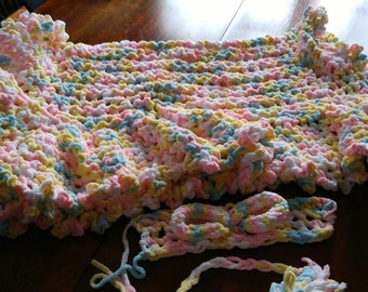 Baby blanket Spring colors