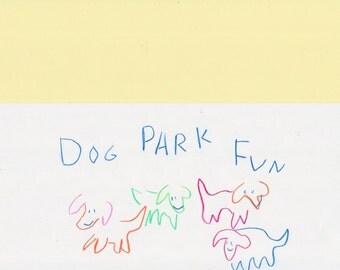 DOG PARK FUN print