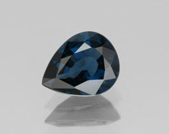 AA  Rated Pear Shape Faceted Genuine (Natural) Blue Sapphire (5x3-6x4mm) 811-361