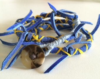 Fringe Wrap Bracelet