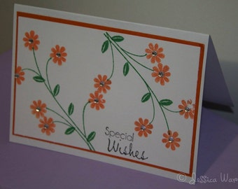 Special Wishes Handmade Card