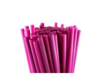 Plastic Treat Sticks - Raspberry