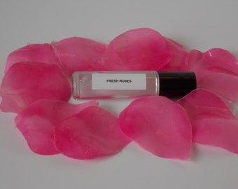 Perfume Oil: Fresh Roses