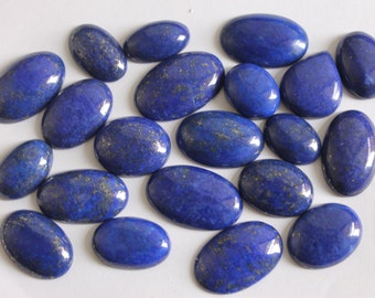 Natural blue lapis lazuli cabochon - Wholesale LAPIS cabochons - Round cabochon - Gemstone Cabochon -Wholesale Lapis lazuli Healing Gemstone