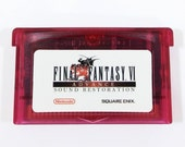Final Fantasy 6 VI Advance RESTORED Sound and Color Restoration for Nintendo Game Boy Advance Cartridge Cart RPG - Free Shipping! featured image