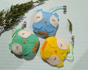 easter decorations owl ornament personalized easter ornaments stuffed owl personalized keychain zipper charm owl plush toy