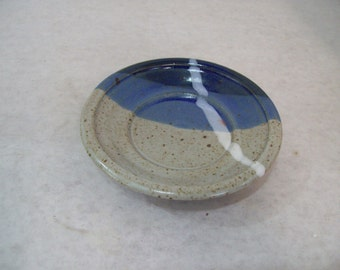 Small Pottery Stoneware Dish, Jewelry Holder, Spoon Rest, Etc. P308
