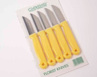 Floristry Knives Pack of 5 Oasis Floral Product Florist and Craft Knife