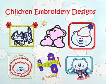 Children Embroidery Designs