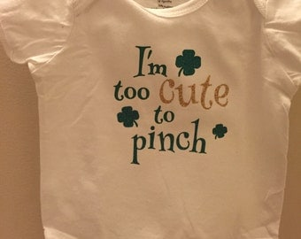 St. Patrick's Day Onesie