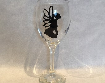 Large fairy wine glass
