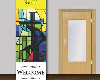 Welcome Church Banner - 1007