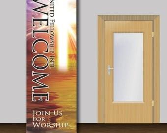 Welcome Church Banner - 1005