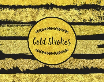 Gold Strokes by Guerillacraft