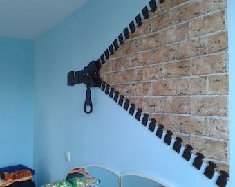 Zipper  Interior Design Decoration Hand Made Wooden