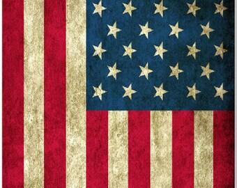 American Flag Grunge LAMINATED Cornhole Wrap Bag Toss Decal Baggo Skin Sticker Wraps