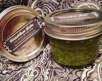 Organic HerbalBum Bum Balm 4 Oz