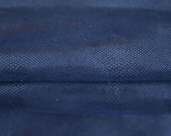 Shiny Snake Pattern 40cm x 55cm Italian Black Blue Genuine Metallic Snake Leather Hide 1,3 mm Thickness  Pattern 10049