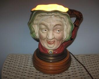 Sairey Gamp Toby Cup Lamp