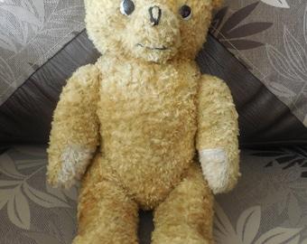 Antique Teddy Bear Arthur Van Gelden , 1930s, RARE
