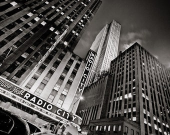 Radio City Music Hall - New York City - Photo - NYC - Photograph - Photography - Print - Manhattan - Music - Concert - Travel - Tourism