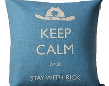 The Walking Dead Keep Calm Cushions with FREE inner