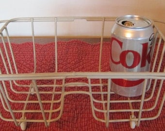 Small Wire Dish Drainer, Rubber coated dish drainer, Half size dish rack