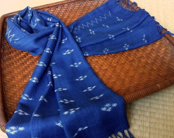 Indigo Scarf: a one-off creation! - SR6