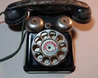 Antique toy phone