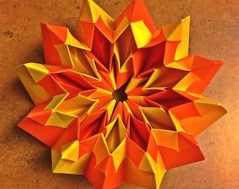 Origami Endlessly Exploding Firework Toy
