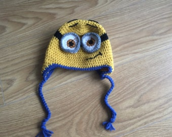 Minion hat crochet