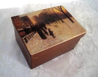 Victorian Style Gift Box / All Occasion Gift Box / Keepsake Gift Box / Handmade Gift Box