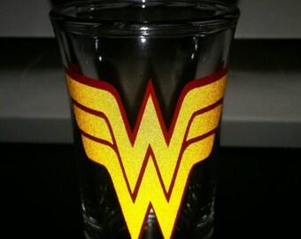 Super hero shot glasses.