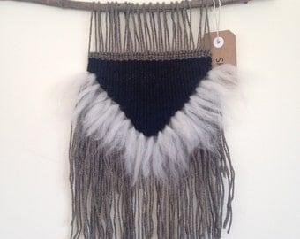 Weaving wall hanging ooak