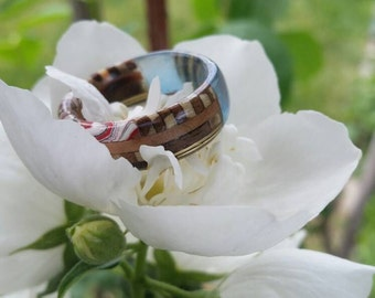 Size 9-9 1/2 multi layered ring