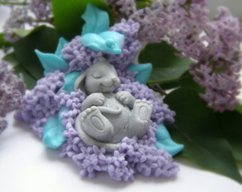 Gifts for Best Friends Soap Mouse in Suringa Soap Mouse In lilac Flower Soap Bathtub Decor BathRoom Accessory Baby Shower Soap Handmade Soap