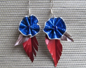 Stacy-BU earrings Electric Blue Rosdec