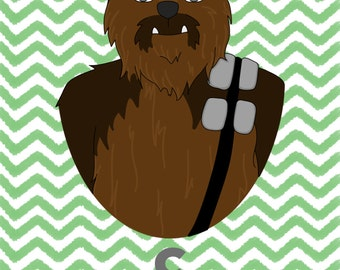 C is for Chewbacca