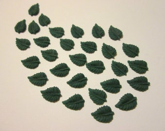 Pack of 30 Clay Leaves