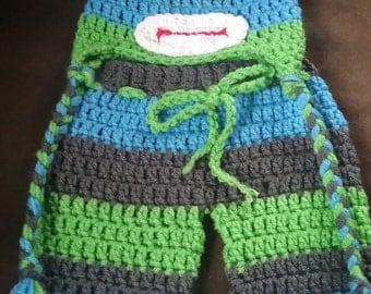 Crochet Sock Monkey Pants Set