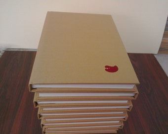 A4 sketchbook portrait tissue interleaved.
