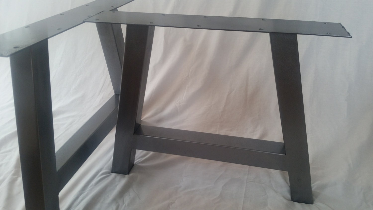metal table legs a frame table legs by basemetaldesign on etsy