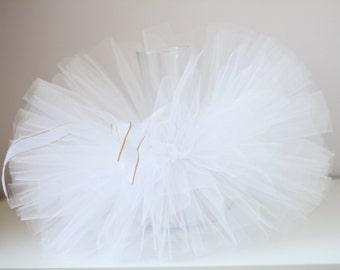 White tutu, White tutu skirt for girls, birthday tutu.