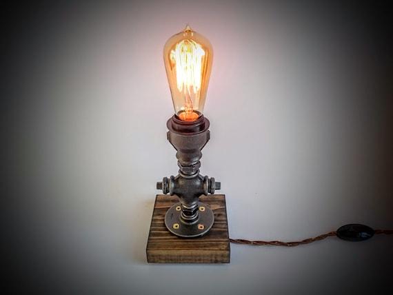 bedroom table lamp plug in night light rustic table lamp table lamp. Black Bedroom Furniture Sets. Home Design Ideas