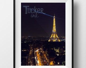 Eiffel Tower Print - Paris, France