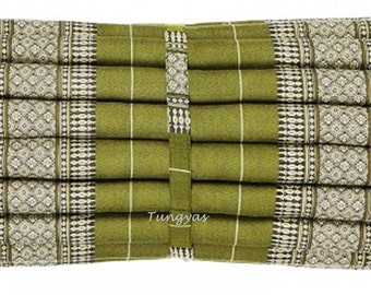 Roll Up Thai Mattress Cushion Yoga Day Bed Sage