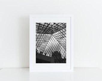 The Louvre Print