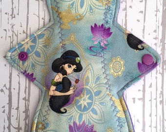 Arabian Nights Light Moderate Heavy Flow Cloth Pad, Reusables, Feminine Products, Pads, Mama Cloth, Cotton Alternative Menstrual Protection