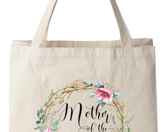 Wedding Tote Bags,Mother of the Bride Tote Bags, Mother of Bride Bag, Wedding Tote Bag, Bridal Tote Bag, Wedding Bag, Canvas Tote Bag