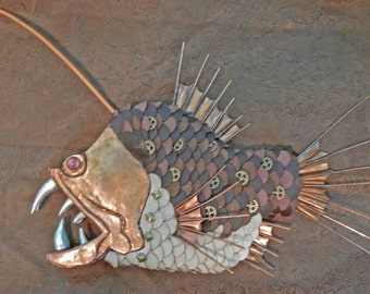 Old Silvertooth Angler Fish